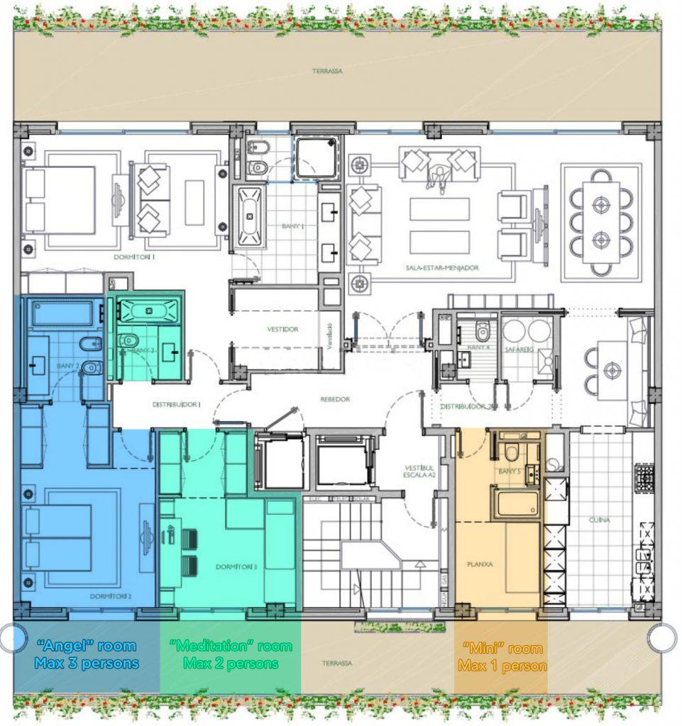 OrangeHealia Retreat Rooms